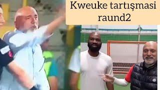 Hikmet Karaman ve Kweuke yıllar sonra tekrar penaltı noktasında .Geçmiş kavgayı videoya ekledim