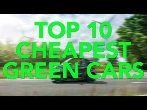 Top 10 Cheapest Green Cars   Most Affordable Hybrids and EVs