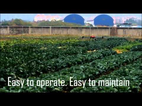 Terra4 Agricultural Pesticide Spraying UAV / Drone / Quadcopter