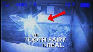 james catches the tooth fairy on camera