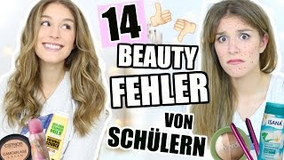 14 BEAUTY FEHLER + LÖSUNGEN für SCHÜLER und ANFÄNGER! ♡ BarbieLovesLipsticks