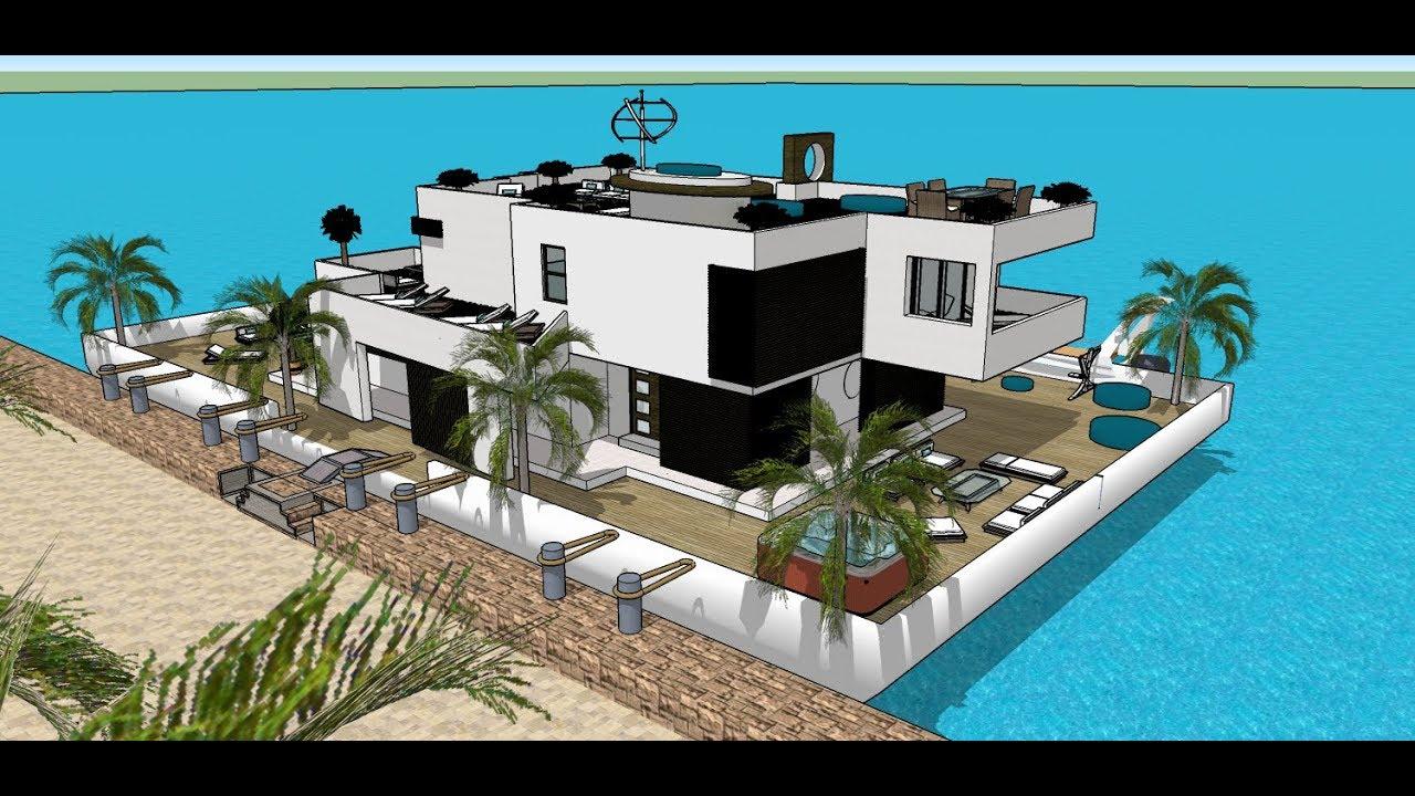casa flutuante la casa moderna firenze contemporanea