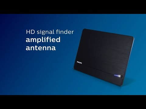 SDV3238N/27: Philips Elite HD Signal Finder Amplified Antenna