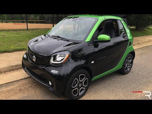 2018 Smart Fortwo EV - o epítome dos carros fofos + vídeo