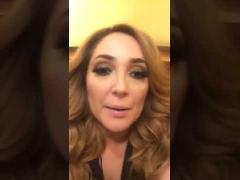 Myriam Montemayor Face Live con Wendolee 09.06.17