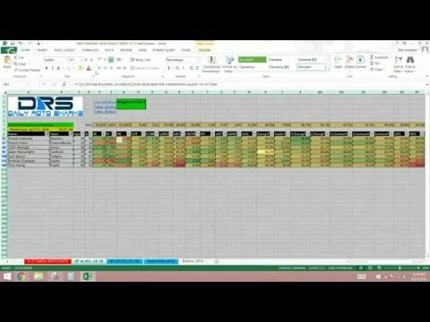 xBenJamminx MLB Cheat Sheet Tutorial w/ Advanced Stats