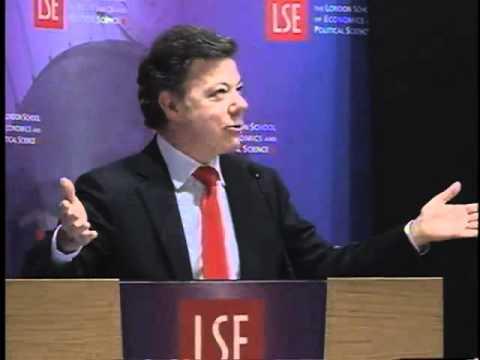 Conferencia en London School of Economics