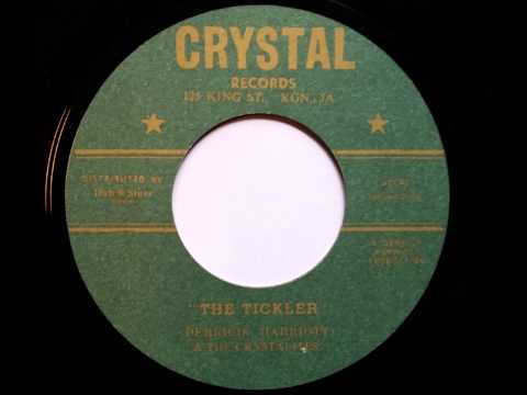 Derrick Harriot and the Crystalites The Tickler - Crystal records