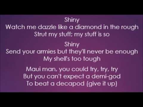 Moana - Jemaine Clement - Shiny (Lyrics)