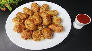 আলু ও ডিম দিয়ে ঝটপট বিকেলের সহজ নাস্তা || Potato Balls Recipe || Easy Healthy Snacks Recipe