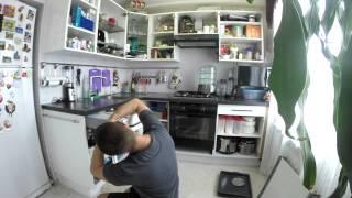 Оклейка фасада кухни пленкой с фотопечатью (Timelaps) г. Кунгур(, 2015-07-30T05:45:18.000Z)