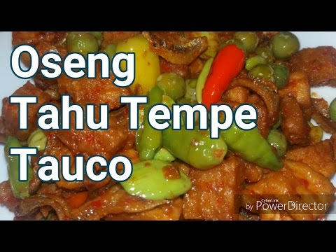 Oseng Tahu Tauco | Masakan ala Warteg