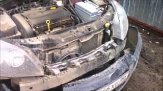 Замена креплений переднего бампера Opel Astra H