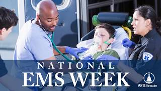 Sen. O'Brien recognizes National EMS Week