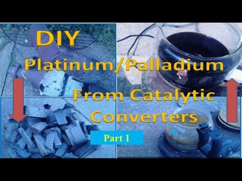 Platinum Recovery! Platinum Extraction! Pt Extraction! Part 1!