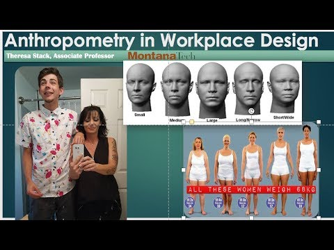 Anthropometry For Work Place Design, Advanced Ergonomics At MT Tech