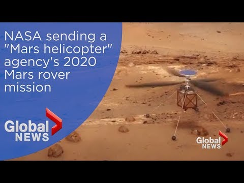 "NASA to send ""Mars Helicopter"" along on agency's Mars 2020 rover mission"