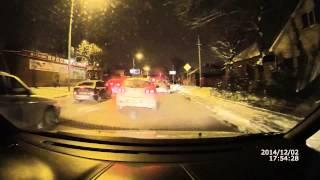 Тест видео авторегистратор SUPRA SCR-777 ночь