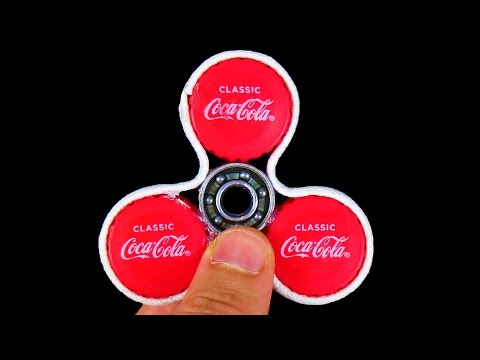 Thumbnail: HOW TO MAKE A SIMPLE FIDGET SPINNER! (IT SPINS FOREVER!)