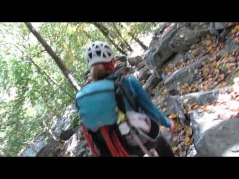 "Rock Climbing at the ""GUNKS""  (Vlog 1)*"