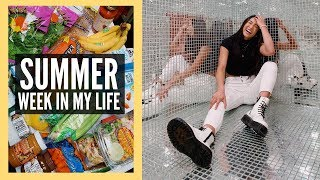 SUMMER WEEK IN MY LIFE | Healthy Reset + Huge Grocery Haul!