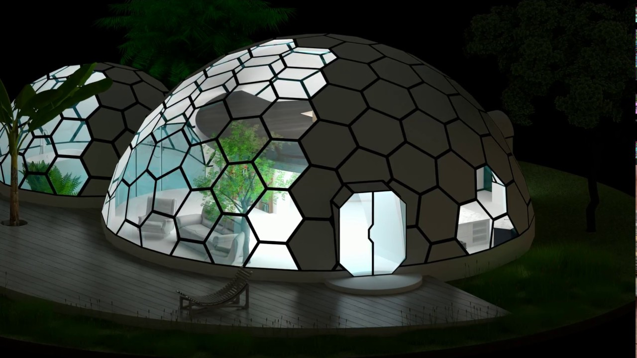 Glass Dome House Plans Small House Interior Design