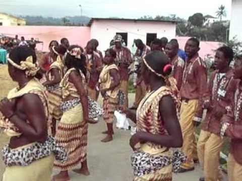 Kintueni Tunga Nzola, em festas da Vila de Belize, 2007, Cabinda-Angola