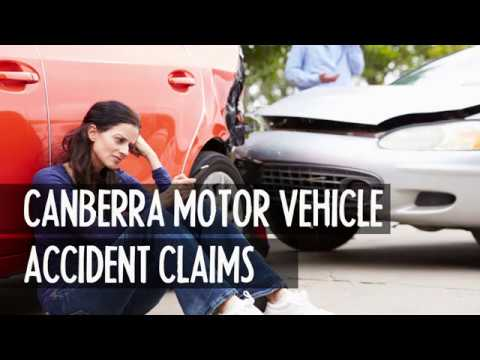 Canberra car motor vehicle accident claims