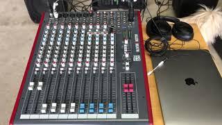Zed 14 monitor set up