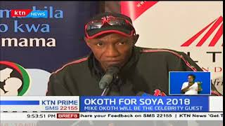 Former Kenya international skipper Mike Okoth will be the chief sports celebrity of SOYA