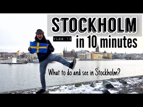 VLOG 13 | STOCKHOLM in 10 Minutes! Quick Guide on Top Things to Do in Stockholm! Surprising!