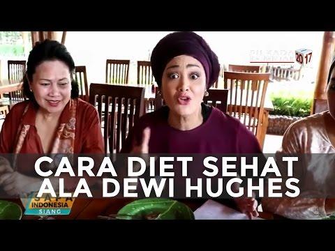 """Sukses Turunkan Berat Badan dari 150 kg Menjadi 70 kg, Inilah Tips """"Diet Kenyang"""" ala Dewi Hughes"""