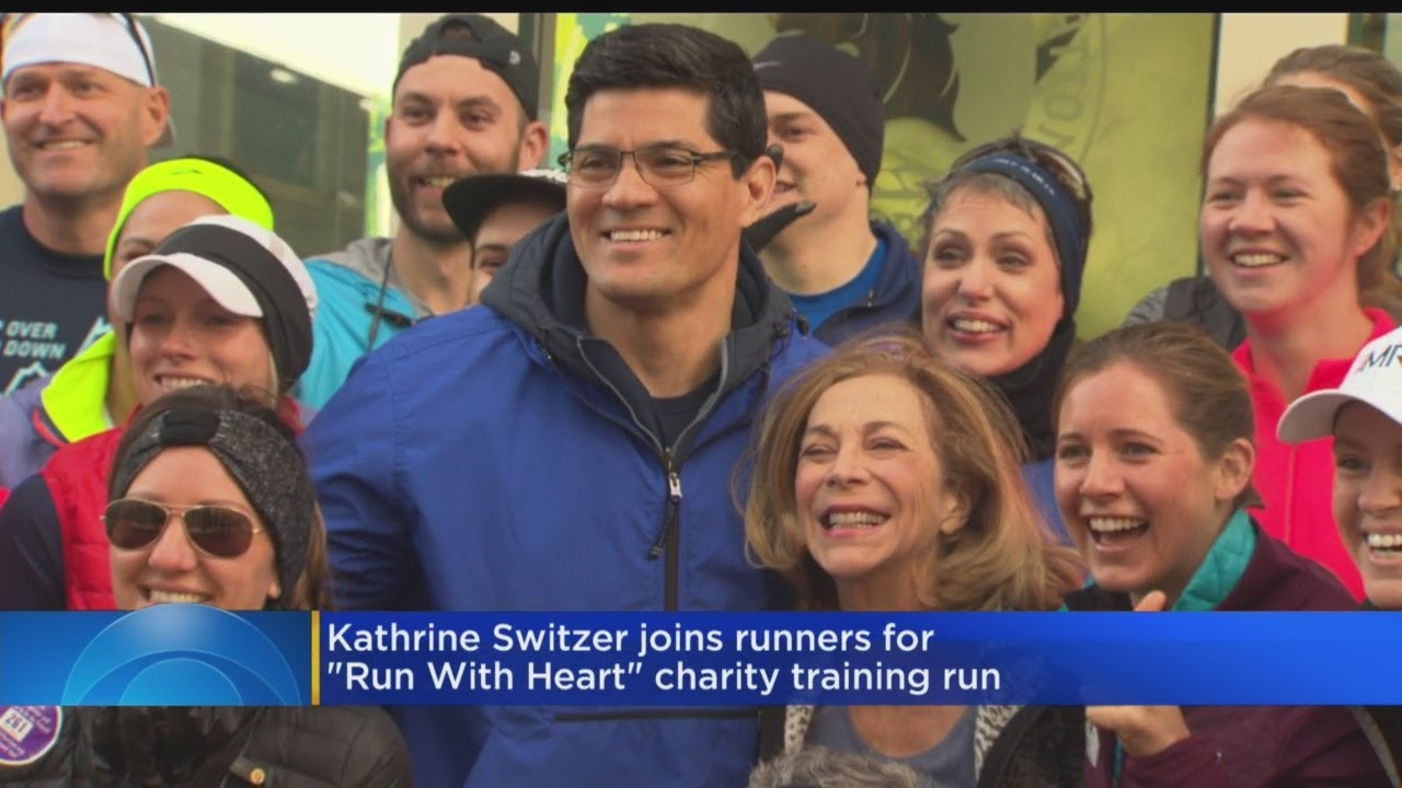 Kathrine Switzer, Tedy Bruschi Join Forces To Promote Heart Health