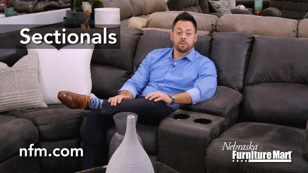 Sectionals At Nebraska Furniture Mart Youtube