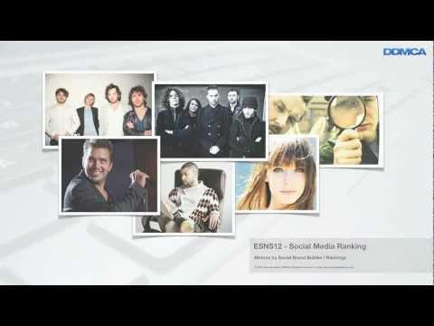 ESNS2012 Presentatie - Social Media Ranking