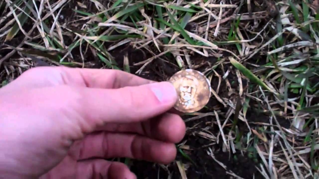 Gold Nugget Found In Backyard first backyard hunt: silver and gold found! (whites dfx 300) - youtube