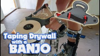Save time Taping Drywall Joints with a Banjo