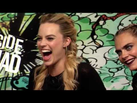 Thumbnail: Margot Robbie & Suicide Squad Cast Interview