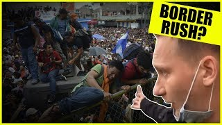 The Truth About The Border Rush In Tijuana