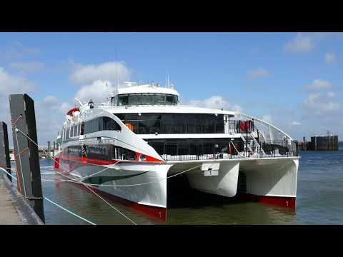 schiff helgoland cuxhaven