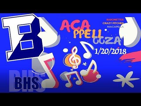 2018 BHS Acappellooza