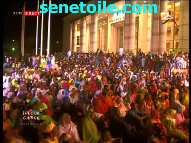 Fête de l'aïd el Fitr Spécial Gamou très émouvant au Grand Théâtre à Dakar (Partie 1/5)