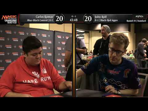 Magic the Gathering GP Seattle 2018 STD Round 10