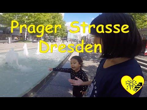 Raisa & Shereen, Prager Strasse Shopping Street Dresden, Germany