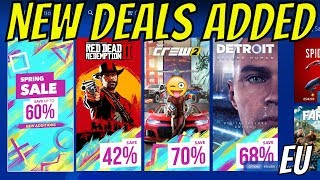 "PS4 Spring Sale NEW DEALS & Discounts ADDED! ""That's Better PlayStation"""
