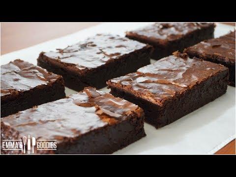 BEST Brownies Recipe - Fudgy Brownies