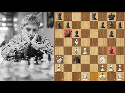 Game of the Century | Bobby Fischer vs Donald Byrne | New York (1956)