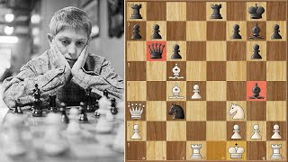 Bobby Fischer's Amazing Game of the Century