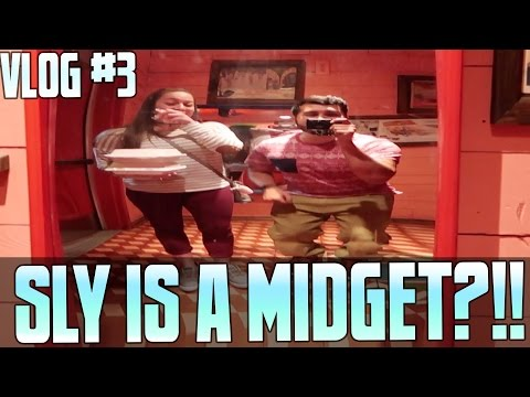 WHAT I LOOK LIKE AS A MIDGET LOL! CAN I DO MIDGET PORN? ARE YOUTUBERS RICH? Sly Vlogs #3 thumbnail