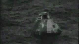 Apollo 13 Re-Entry/Splashdown (BBC)